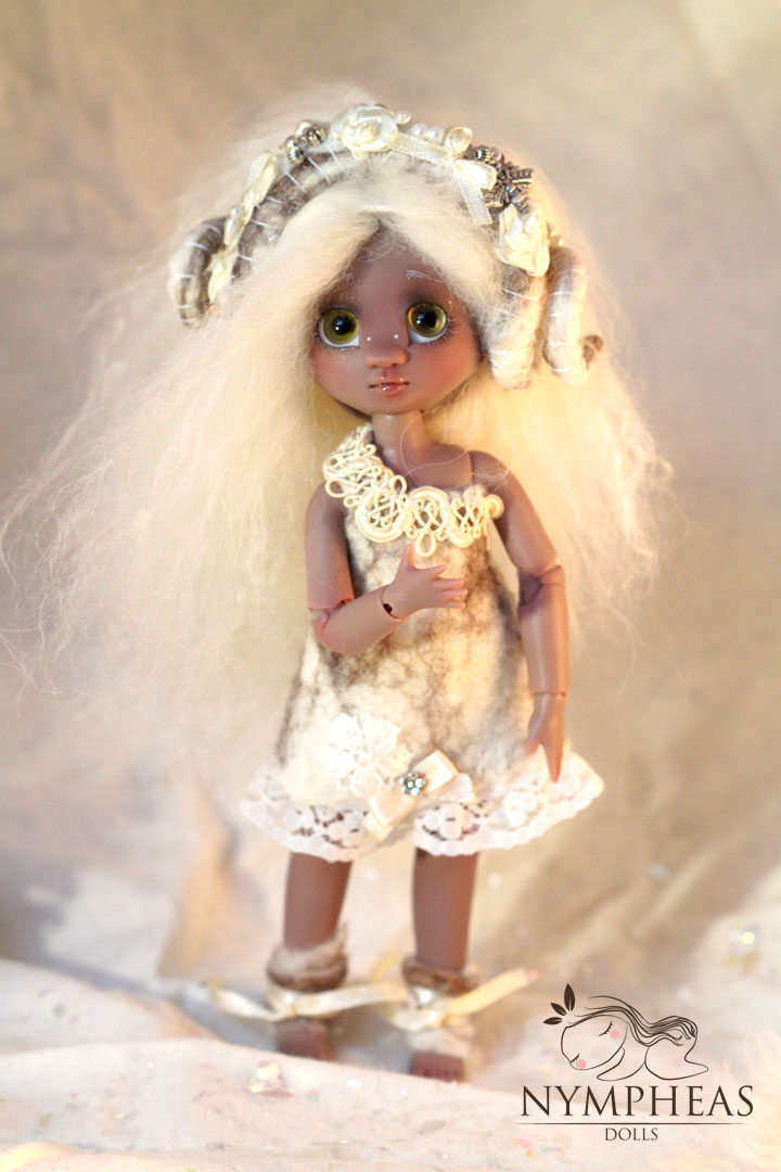 Nymphette Aries OOAK by K6 on Nympheas Dolls