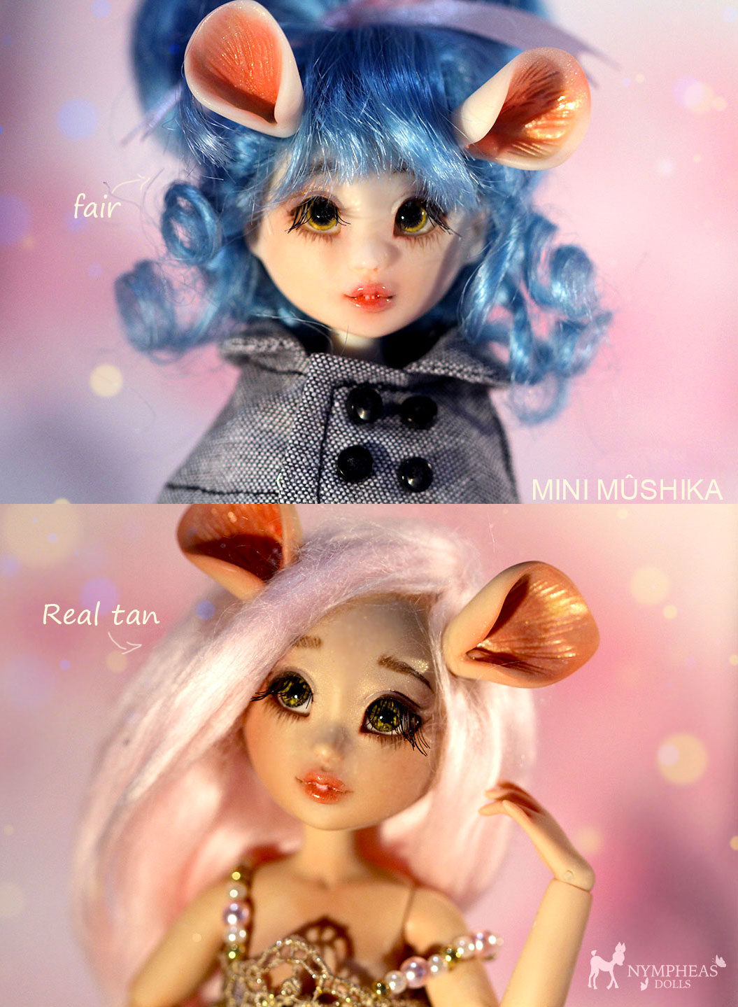 [Nympheas dolls]Mini Mûshika p3 - Page 3 MiniMushika-lesdeux